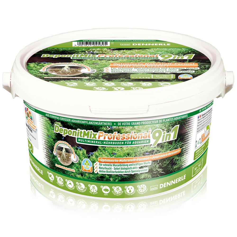 Грунт питательный Dennerle DeponitMix Professional 9 в 1 2,4 кг на 50-70 л