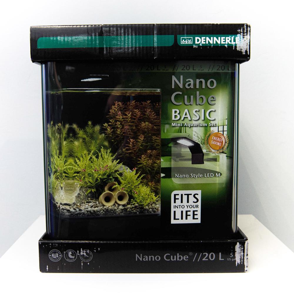 Аквариум Dennerle Nano Cube Basic на 20л Style LED M