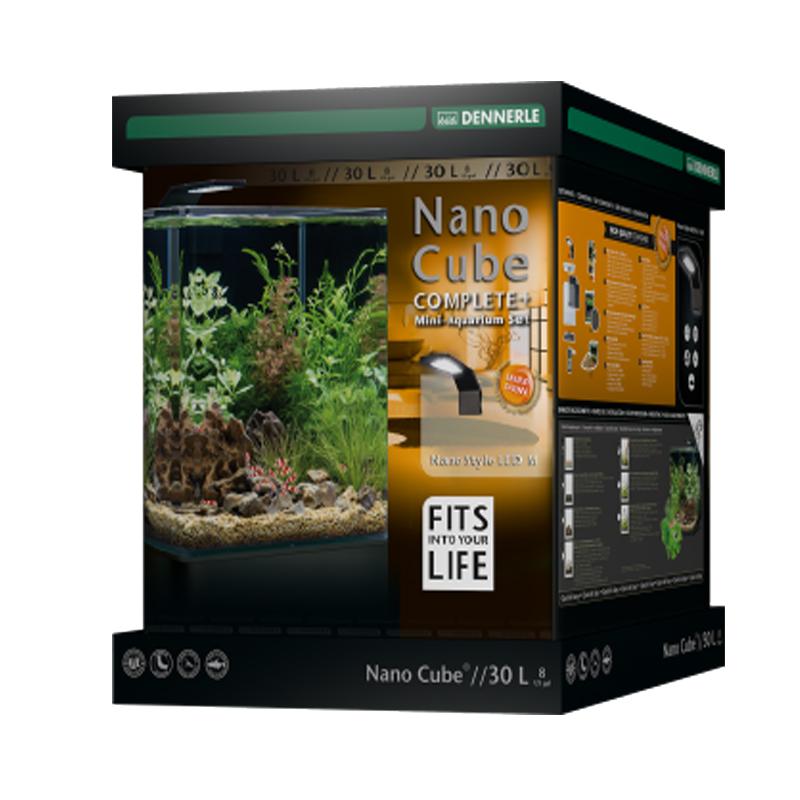 Аквариум Dennerle Nano Cube Complete PLUS Style LED M на 30 л