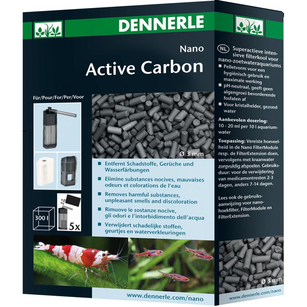 Уголь Dennerle Суперактивный для интенсивной фильтрации в нано-аквариумах с пресной водой