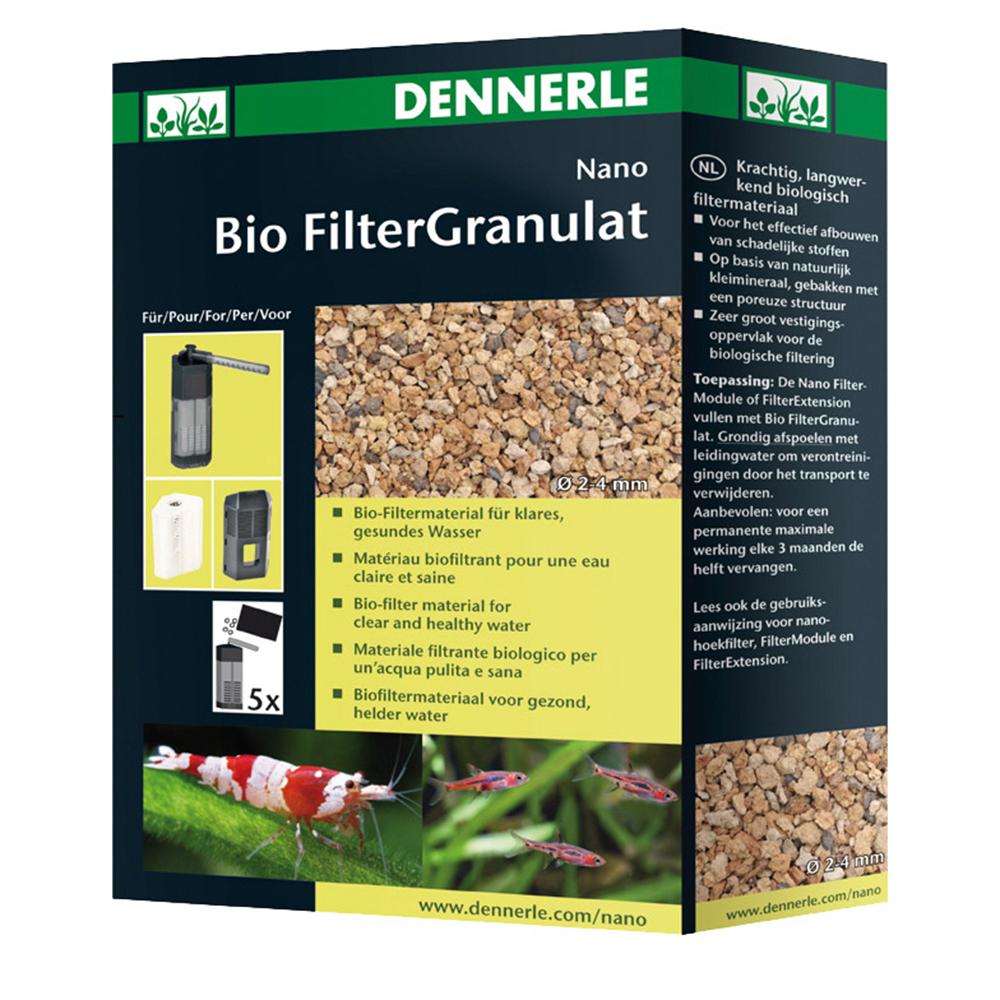 Наполнитель Dennerle Основной для биофильтрации в нано-аквариумах в форме гранул