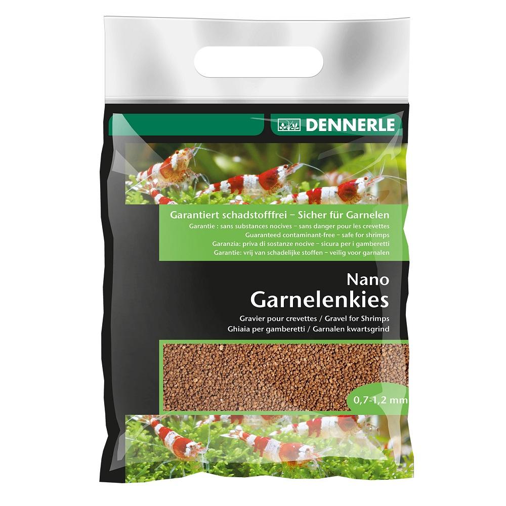 Грунт DENNERLE Nano Garnelkies Суматра коричневый 0,7-1,2мм 2кг