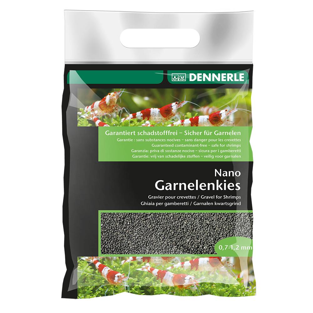 Грунт DENNERLE Nano Garnelkies Арканзас серый 0,7-1,2мм 2кг