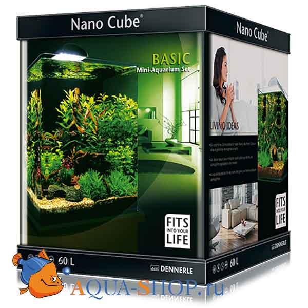 Аквариум Dennerle Nano Cube Basic на 60л Style LED L