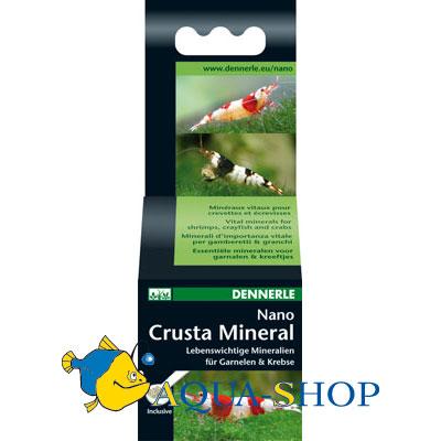 Комплекс жизненно важных минералов Dennerle Nano  Crusta Mineral для креветок, раков и сомов, 35г