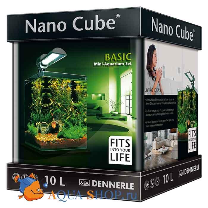 Аквариум Dennerle Nano Cube Basic на 10 л