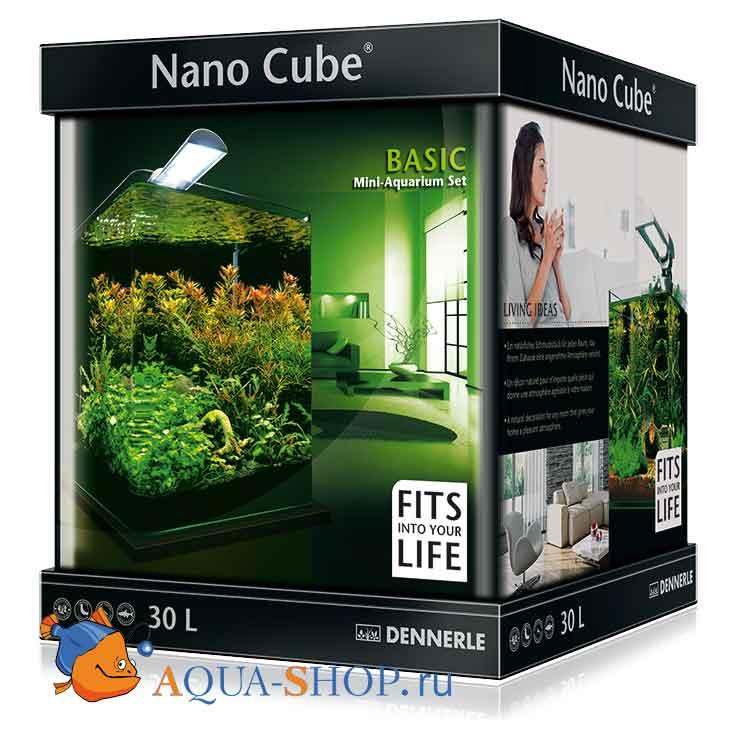 Аквариум Dennerle Nano Cube Basic на 30л Style LED M
