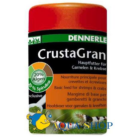 Корм Dennerle CrustaGran для креветок гранулированный 100 мл