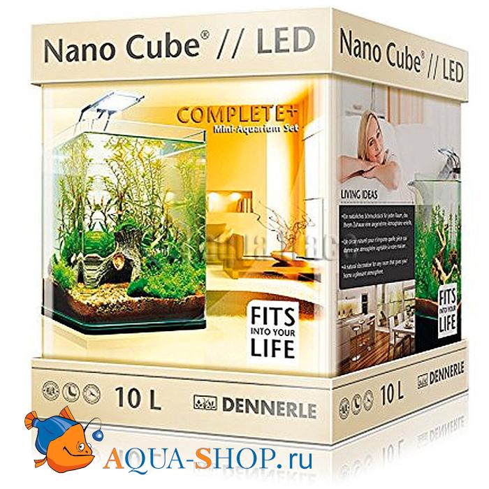 Аквариум Dennerle Nano Cube Complete Plus Nano Power LED 10л