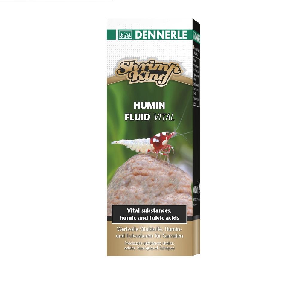 Добавка Dennerle Shrimp King Humin Fluid Vital для аквариумов с пресноводными креветками 100мл