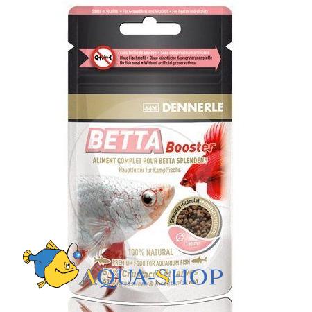 Корм для рыб Dennerle в гранулах для бойцовых рыб-петушков 30 мл