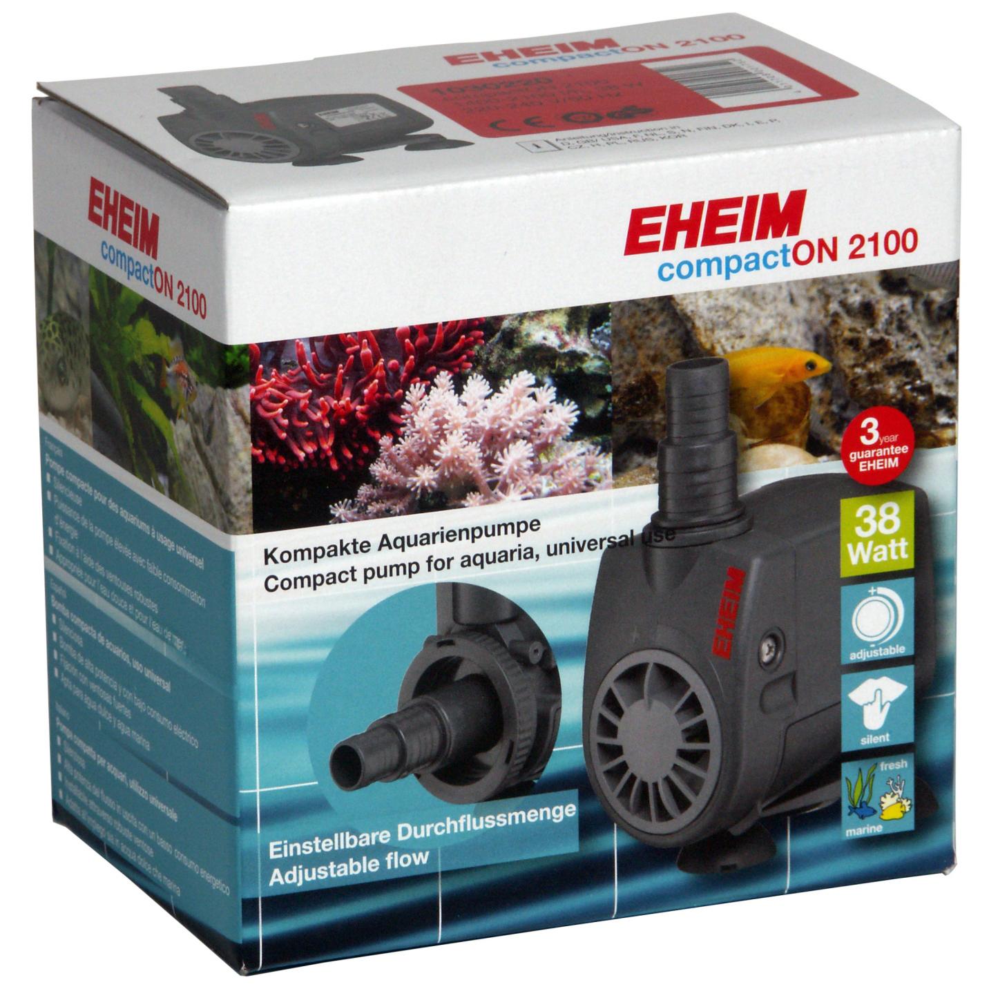 Помпа погружная EHEIM compactON 2100 (1400-2100 л/ч)
