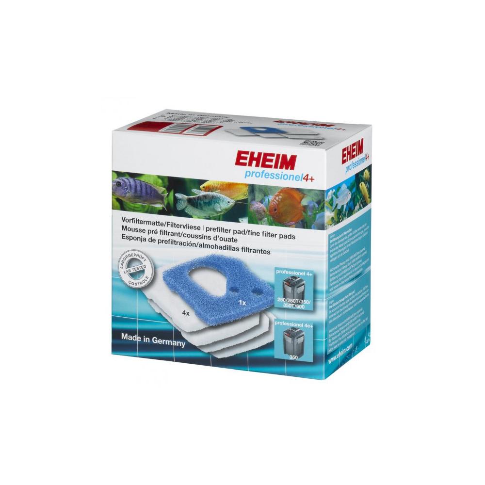 Наполнители EHEIM к фильтрам PROFESSIONEL 4+ (2271/73/75), prof 4e+ (2274), (1 губка + 4 синтепона)