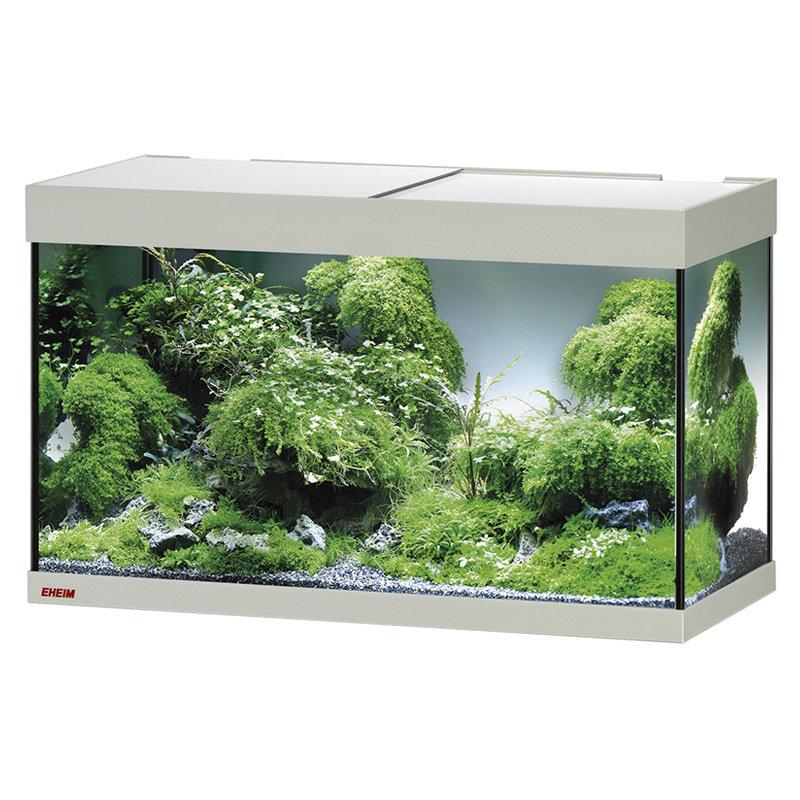 Аквариум EHEIM vivaline 126 LED серый дуб 120л,80х35х45см