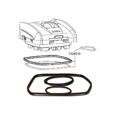 Кольцо уплотнительное EHEIM для фильтров Prof 3 2080/2180 набор 3 шт под голову