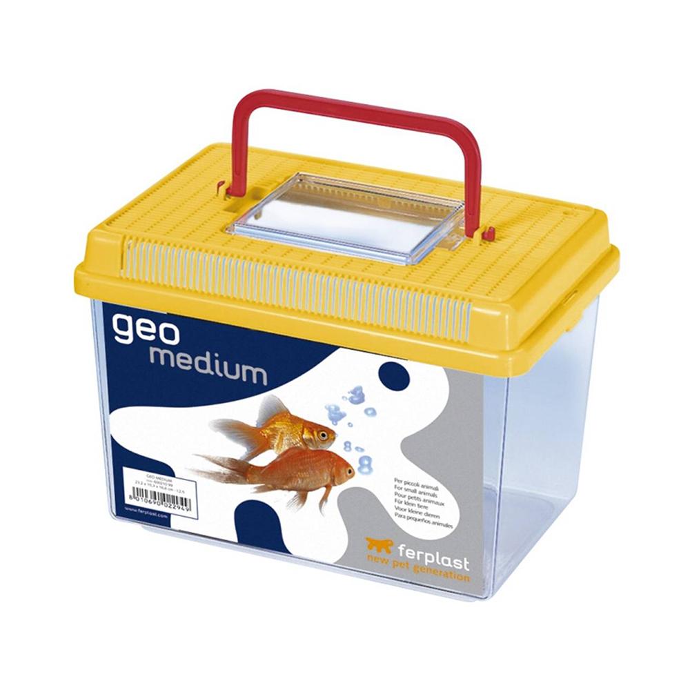 Пластиковая переноска-террариум FERPLAST GEO MEDIUM  (2,5 л.)