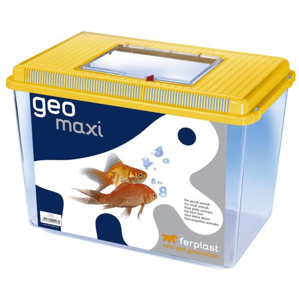 Пластиковая переноска-террариум FERPLAST GEO MAXI  (21 л.)