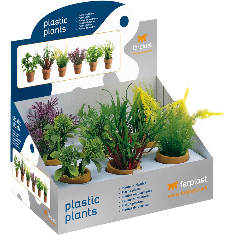 Растение пластиковое FERPLAST в асс. 15 см