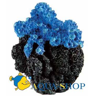 Коралл искусственный FERPLAST голубой