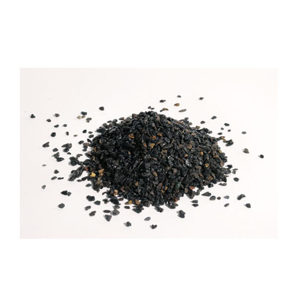 Черный натуральный грунт в аквариуме