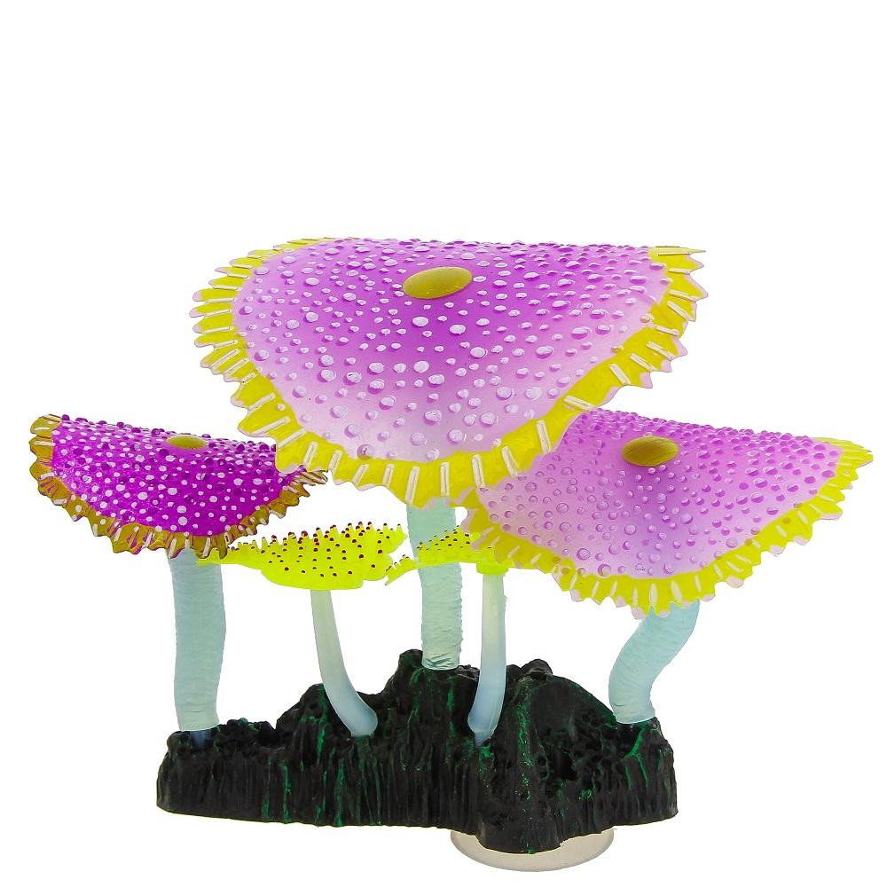 Кораллы зонтичные фиолетовые 14*6,5*12 см