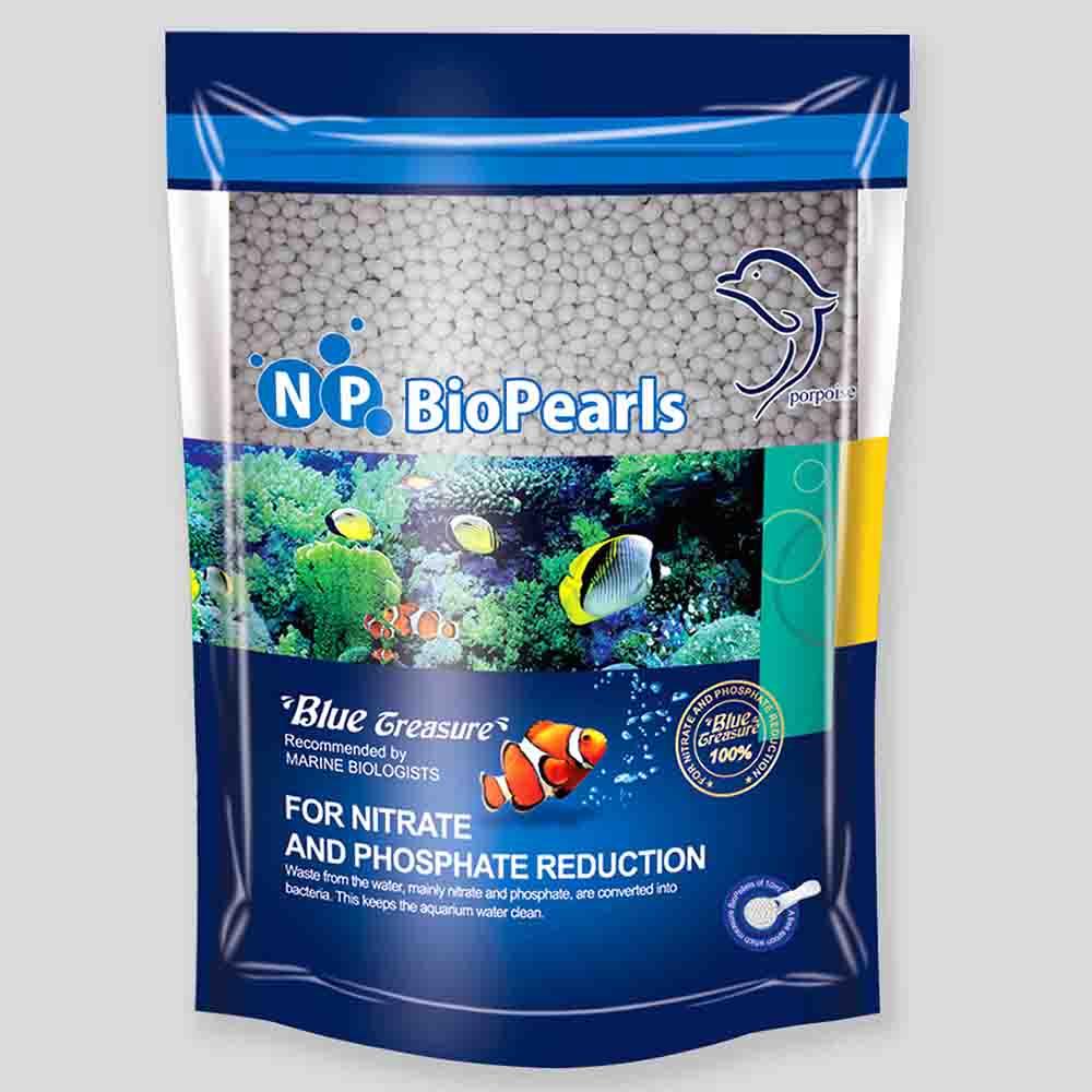 """Наполнитель для фильтра """"кипящего слоя"""" BLUE TREASURE NP BioPearls 500мл"""