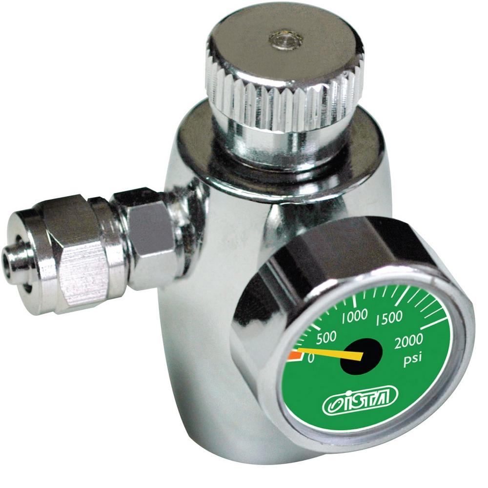 Регулятор СО2 ISTA с предохранительным клапаном