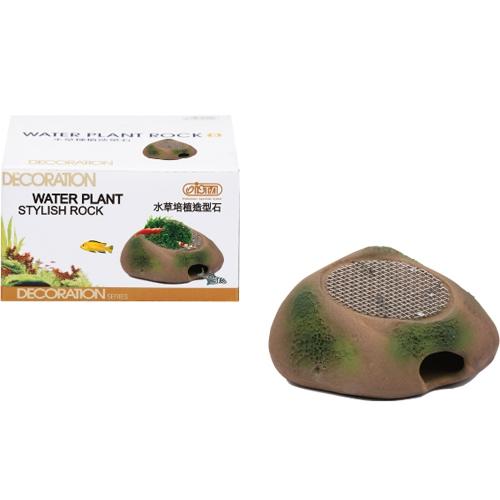 Камень керамический для растений, с решеткой для мхов