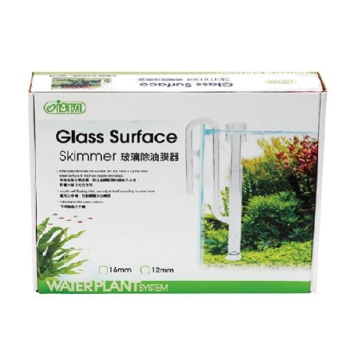 Заборник воды стеклянный совмещенный со скиммером для внешних фильтров 12мм