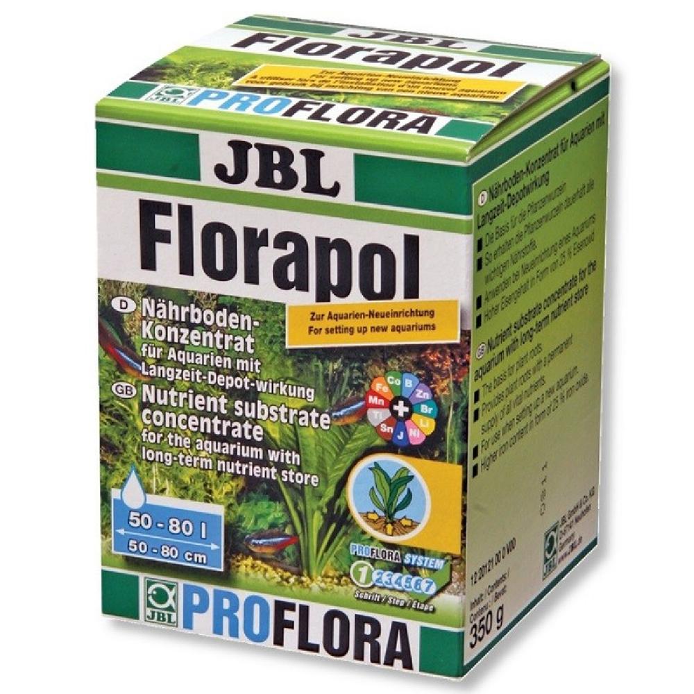 Удобрение для растений JBL Florapol концентрат питательных элементов 350 г