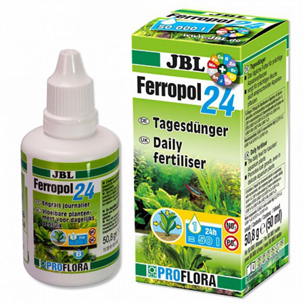 Удобрение для растений JBL Ferropol 24 ежедневное комплексное 50мл