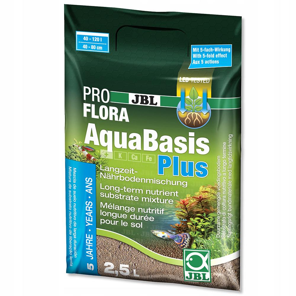 Грунт питательный JBL AquaBasis Plus 2,5 л