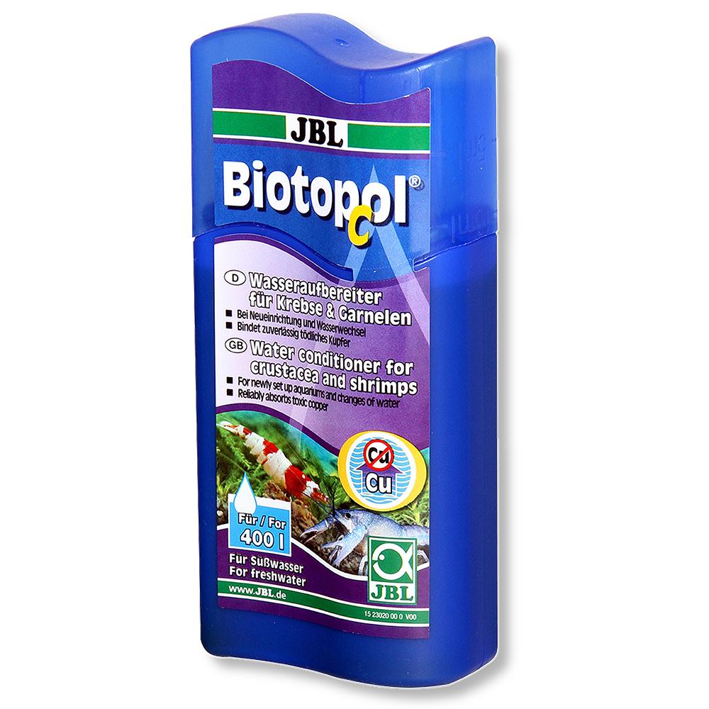 Средство JBL Biotopol C для подготовки воды 100 мл