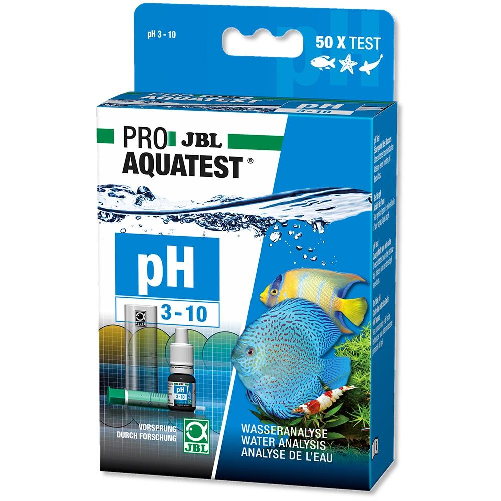 Тест JBL ProAqua на pH (3.0-10.0), пресн/морск, 50 измерений