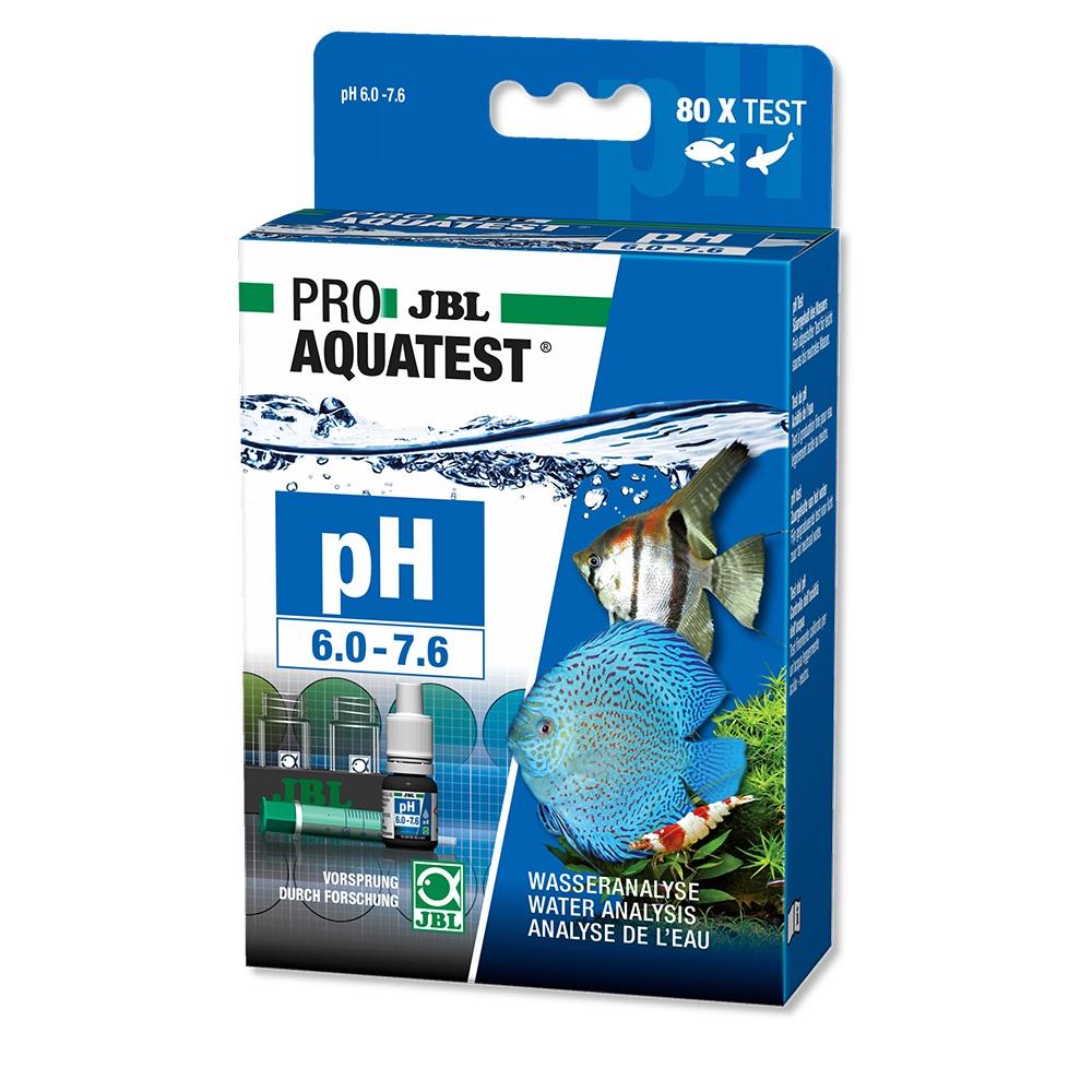 Тест JBL ProAqua на pH (6.0-7.6), пресн, 80 измерений
