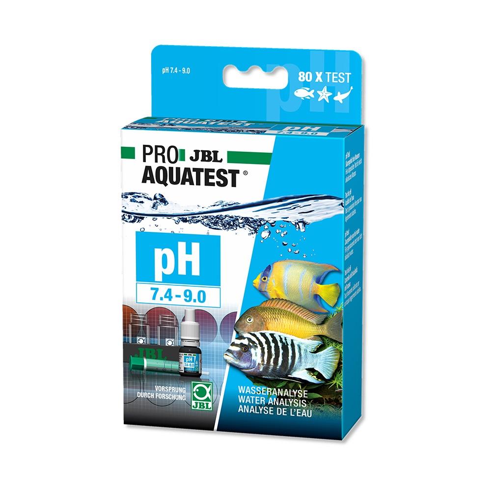 Тест JBL ProAqua pH (7.4-9.0) пресн/морк. 80 измерений.
