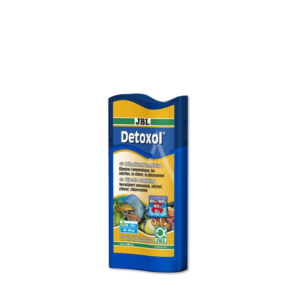 Кондиционер JBL Detoxol для быстрой нейтрализации токсинов в аквариумной воде, 100 мл, на 400 л