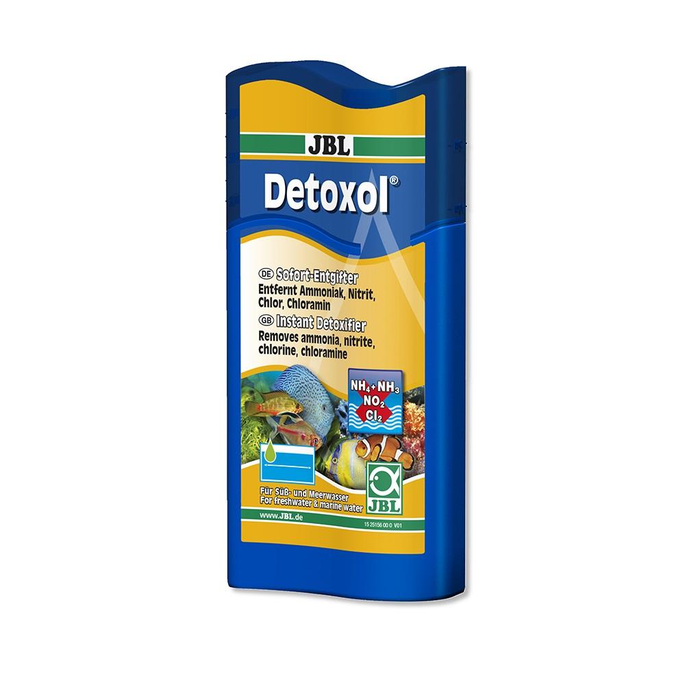 Препарат JBL Detoxol для быстрой нейтрализации токсинов в аквариумной воде, 250 мл, на 1000 л