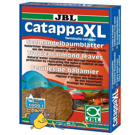 Листья миндального дерева JBL Catappa XL L 24 см 10 шт