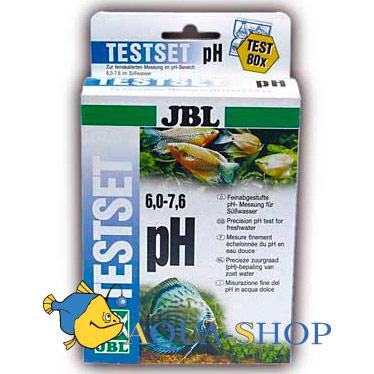 Реагент для теста <b>JBL</b> на <b>pH</b> (6.0-7.6), пресн, 80 измерений ...