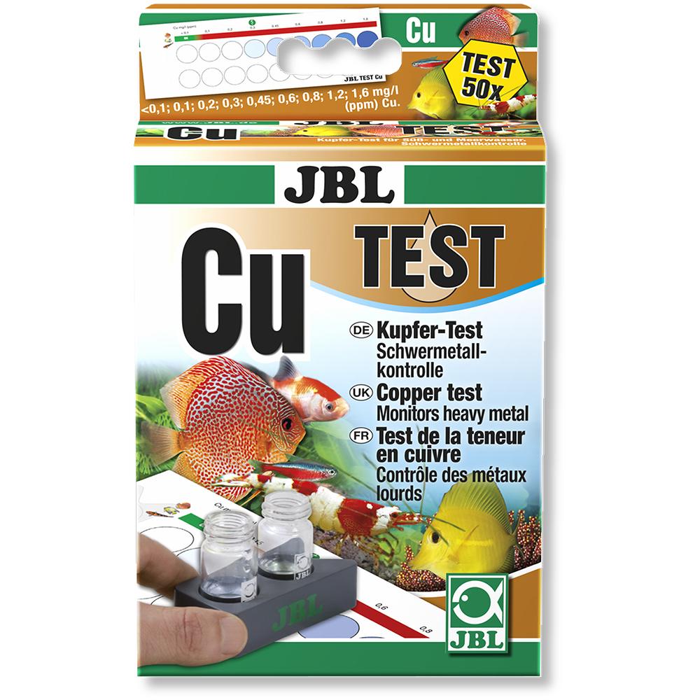 Тест JBL на медь (Cu), морск/пресн, 50 измерений
