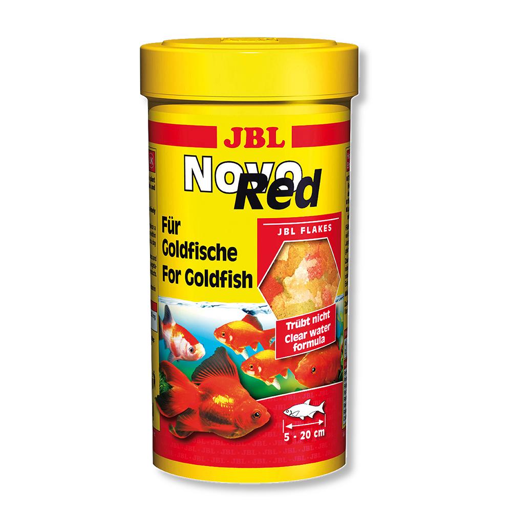 Корм для рыб JBL Novo Red для золотых рыбок 250мл