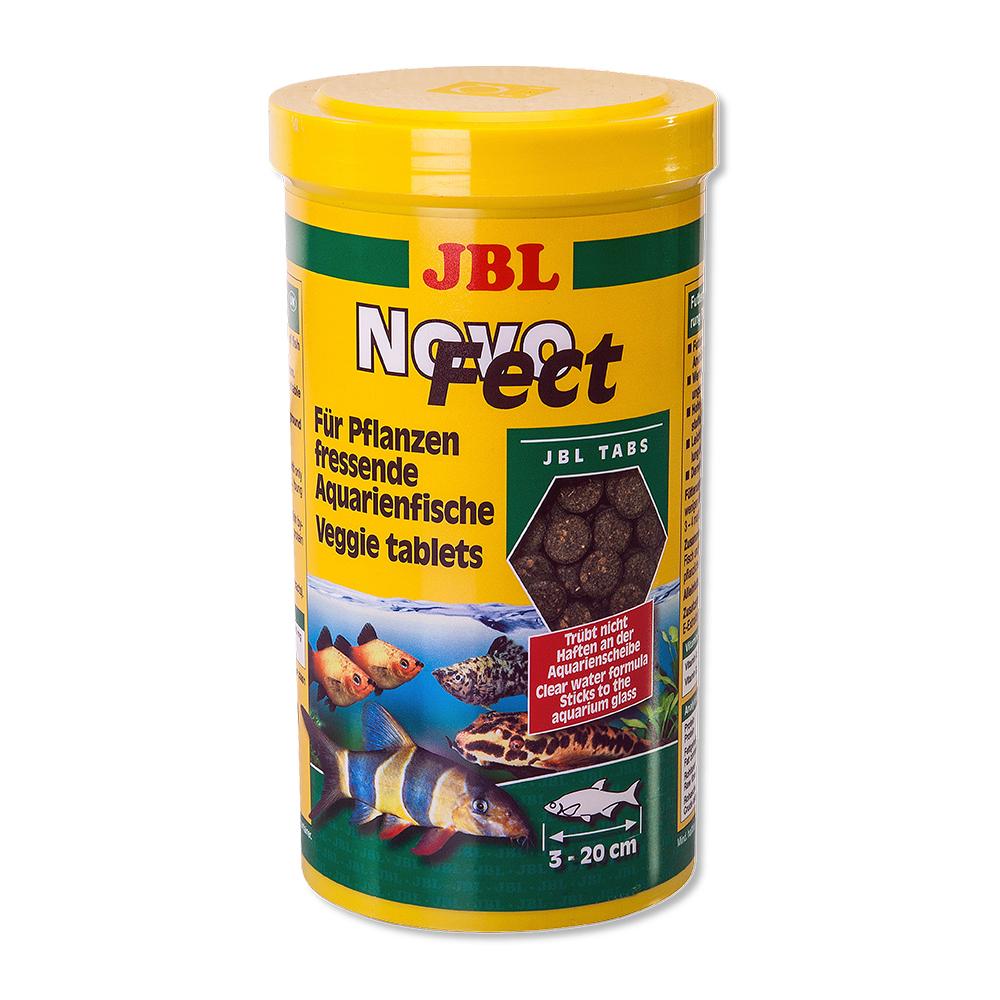 Корм для рыб JBL Novo Fect в форме таблеток для растительноядных рыб, 100мл