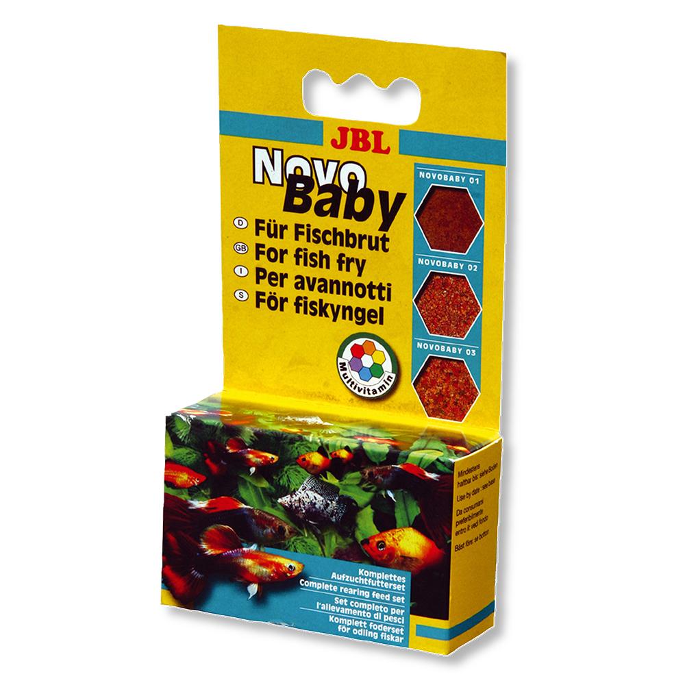 Корм для рыб JBL NovoBaby для мальков 3*10 мл