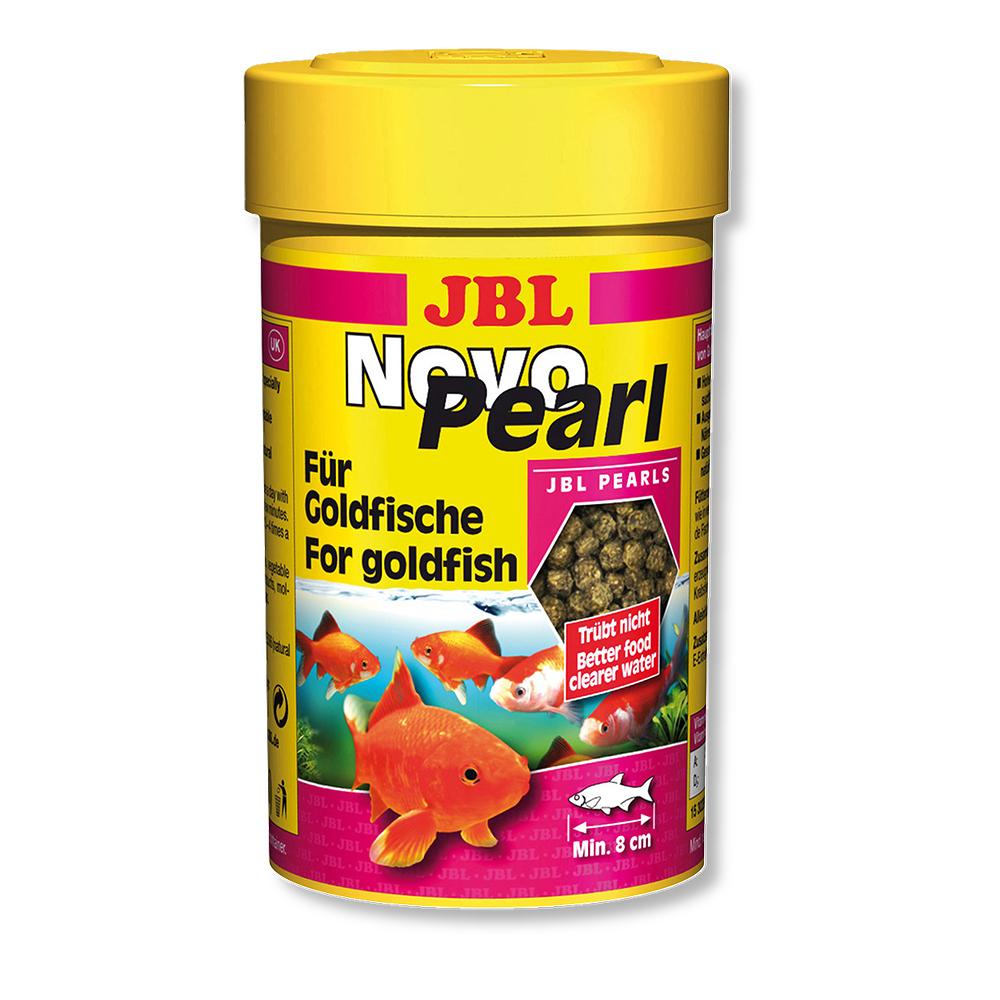 Корм для рыб JBL NovoPearl для золотых рыбок 250мл