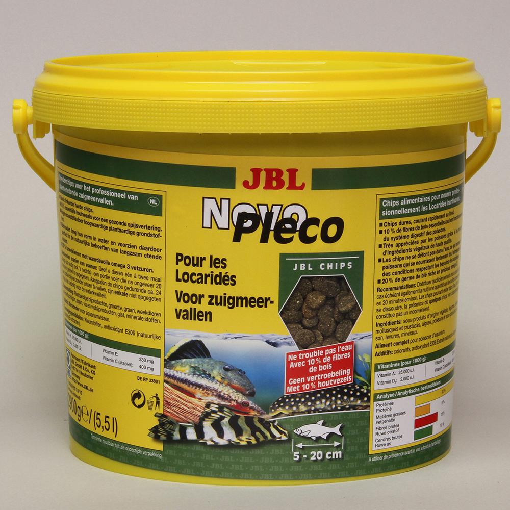 Корм для рыб JBL NovoPleco для сомов 5,5 л