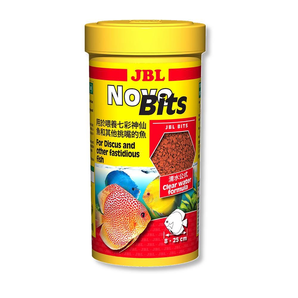 Корм для рыб JBL NovoBits для привередливых рыб 250 мл