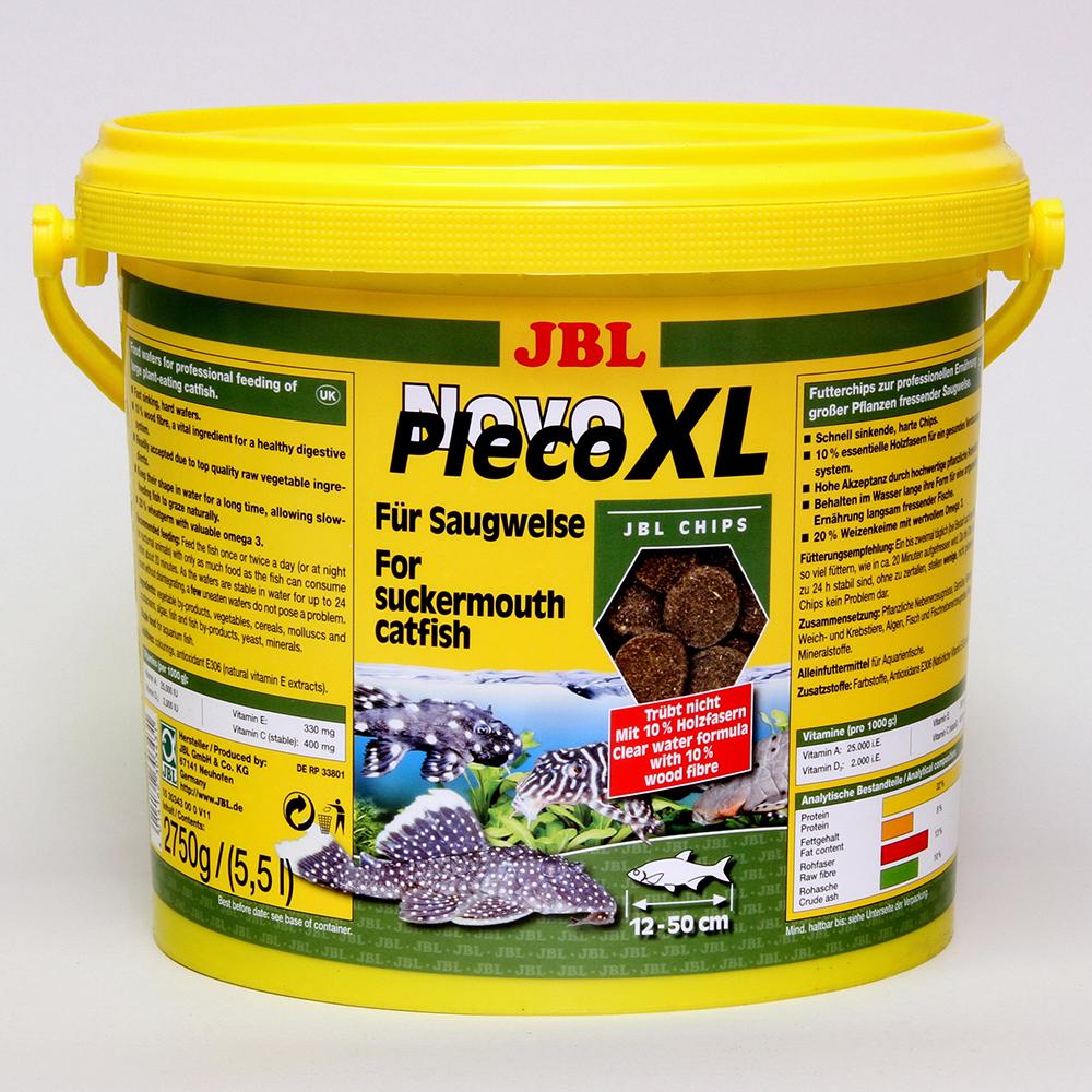 Корм для рыб JBL NovoPleco XL для сомов 5,5 л