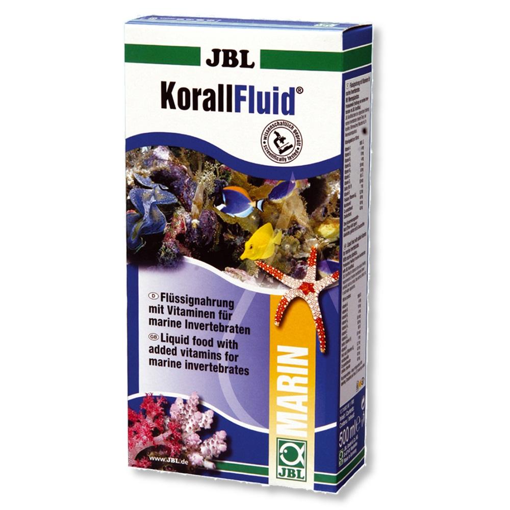 Корм для рыб JBL KorallFluid для беспозвоночных и мальков жидкий планктон 100 мл