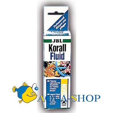 Корм для рыб JBL KorallFluid для беспозвоночных и мальков жидкий планктон 500 мл